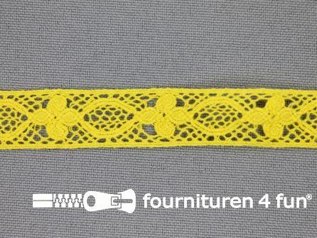 Ibiza broderie 13mm geel