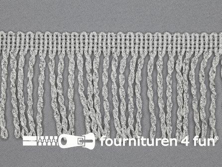 Zilver franje 70mm