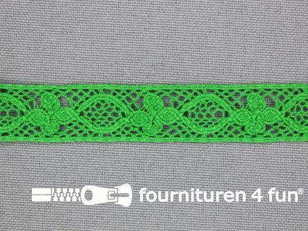 Ibiza broderie 13mm gras groen
