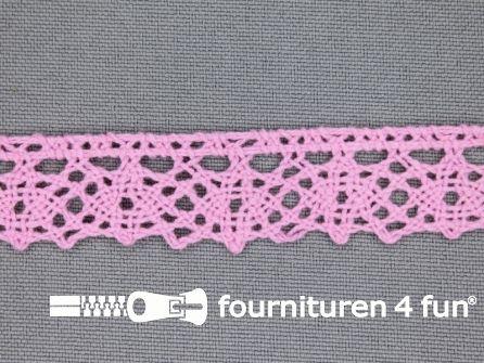 Ibiza broderie 15mm barbie roze