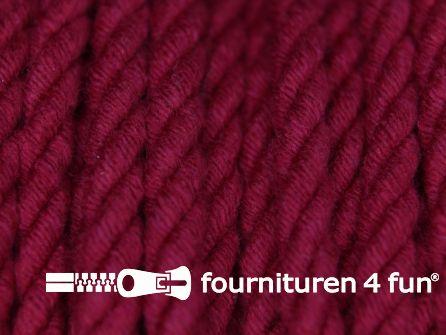 Katoenen meubel koord 5mm donker rood