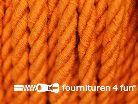 Katoenen meubel koord 5mm oranje