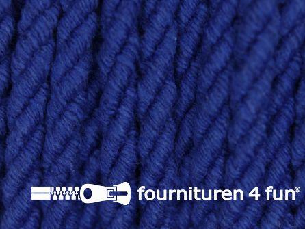 Katoenen meubel koord 5mm koren blauw