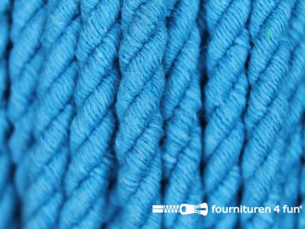 Katoenen meubel koord 5mm turquoise