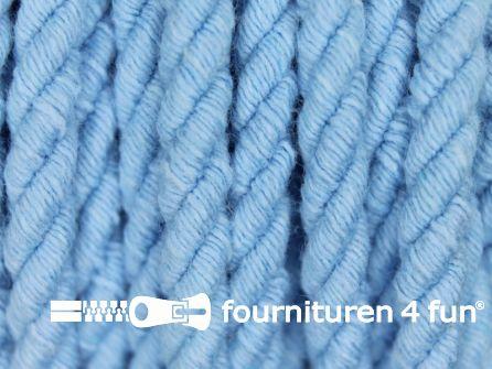 Katoenen meubel koord 5mm licht blauw
