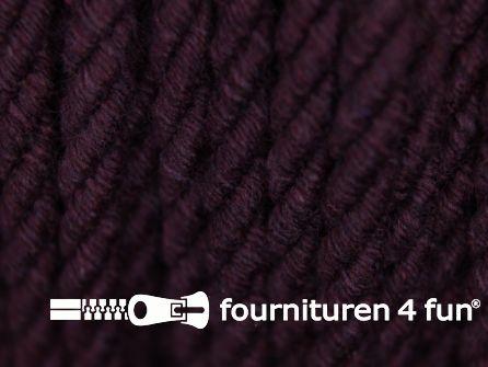 Katoenen meubel koord 5mm aubergine