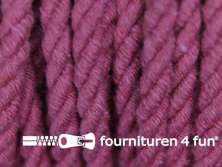 Katoenen meubel koord 5mm oud roze
