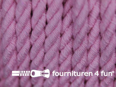 Katoenen meubel koord 5mm licht roze