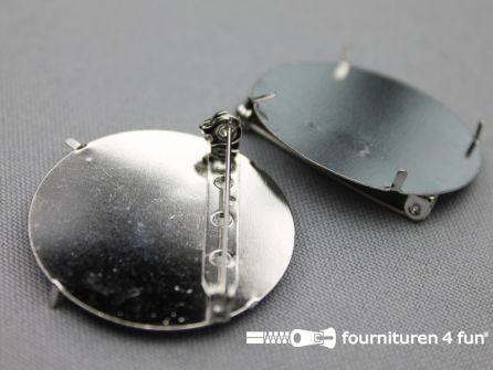 Corsage spelden 36mm rond zonder gaatjes