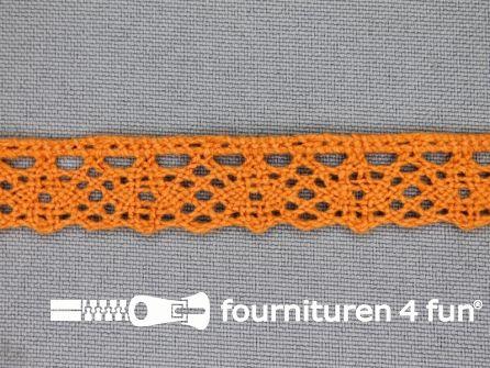 Ibiza broderie 15mm oranje