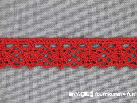 Ibiza broderie 15mm rood
