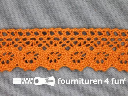 Ibiza broderie 23mm oranje