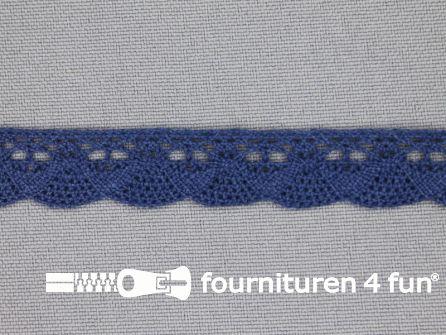 Ibiza broderie 14mm donker blauw