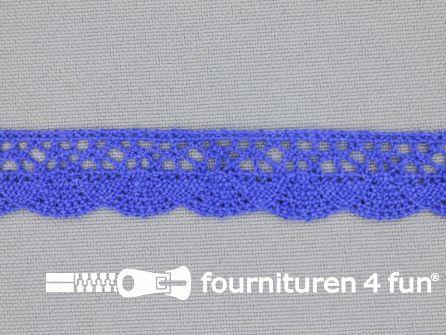 Ibiza broderie 14mm kobalt blauw