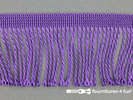 Nylon franje 60mm paars