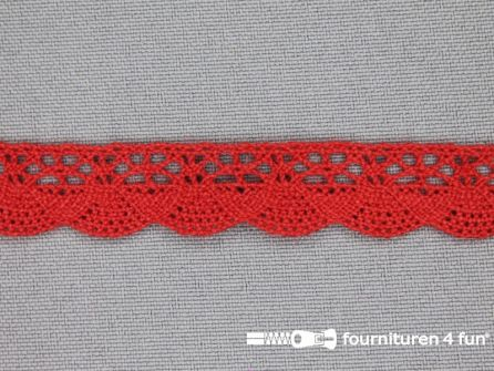 Ibiza broderie 14mm rood
