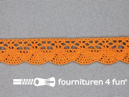 Ibiza broderie 14mm oranje