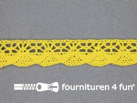 Ibiza broderie 14mm geel