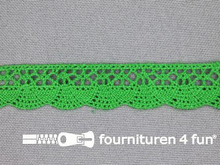 Ibiza broderie 14mm gras groen