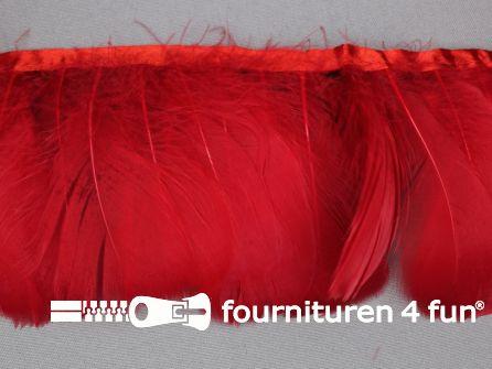 Verenband 90mm rood