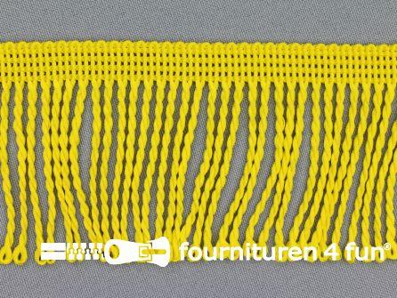 Nylon franje 60mm fel geel