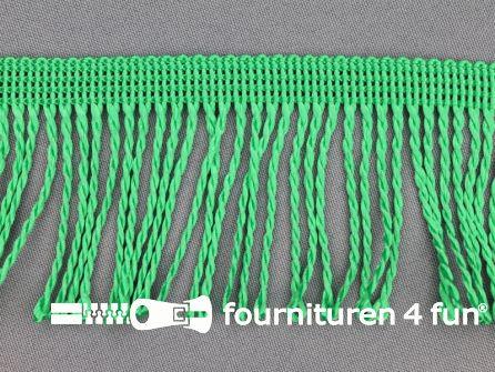 Nylon franje 60mm gras groen