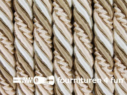 Multicolor meubelkoord 10mm beige - ecru
