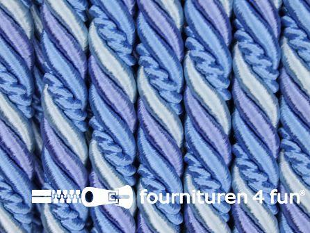 Multicolor meubelkoord 10mm blauw