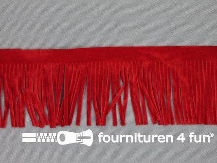 Western franje 50mm rood