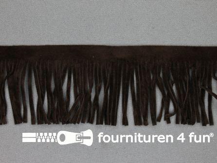Western franje 50mm donker bruin