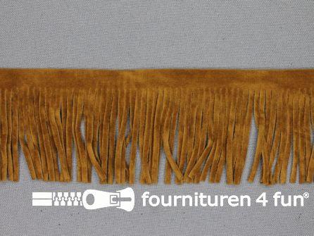 Western franje 50mm camel-bruin