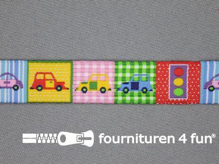Kinderband 17mm stoplicht - auto
