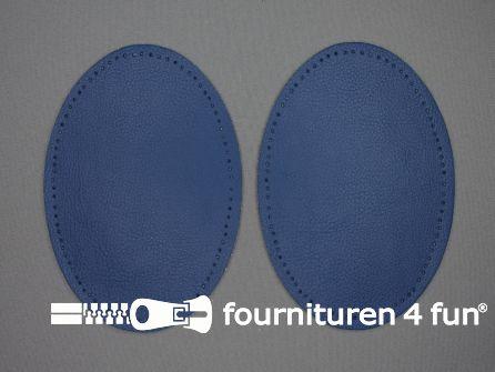 Elleboogstukken skai blauw