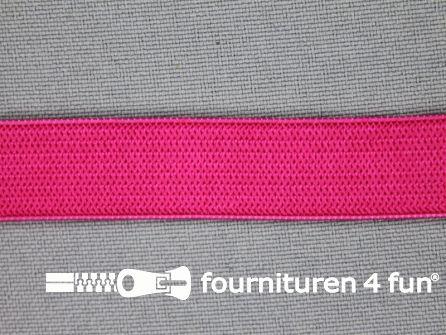 Gekleurd soepel elastiek 14mm fuchsia