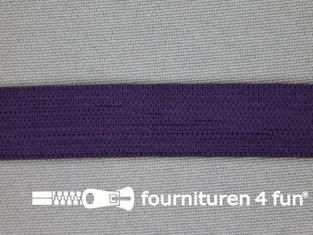 Gekleurd soepel elastiek 14mm paars