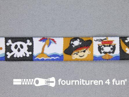 Kinderband 14mm piraat