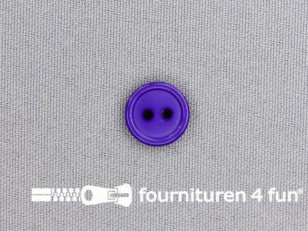Kunststof knoop 13mm paars
