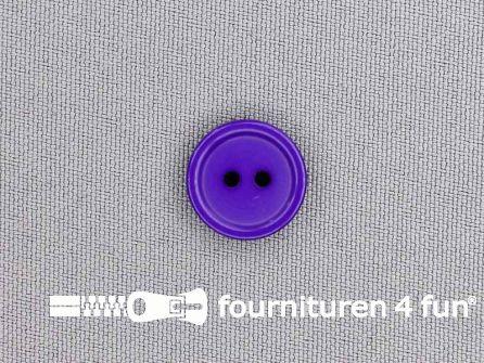 Kunststof knoop 15mm paars