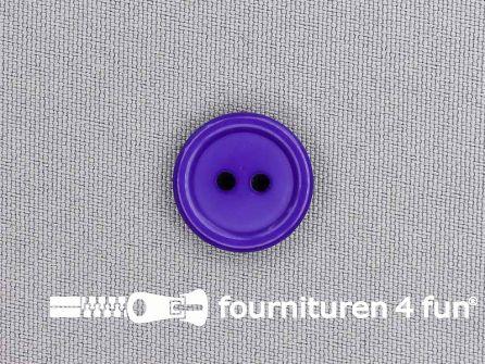Kunststof knoop 18mm paars