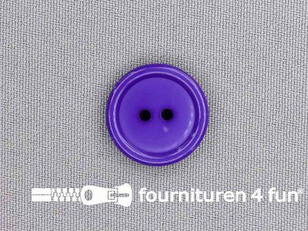 Kunststof knoop 20mm paars