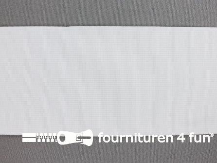 Band elastiek 80cm soepel wit