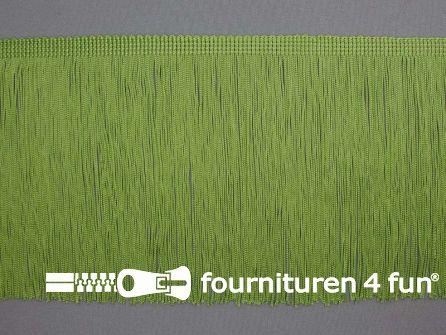 Charleston franje 150mm olijf groen