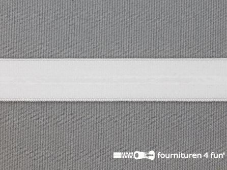 Siliconen elastiek 15mm wit