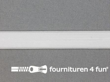 Siliconen elastiek 12mm wit