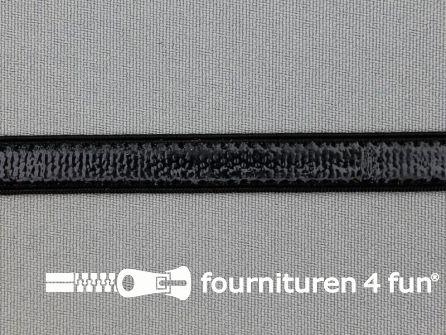 Siliconen elastiek 10mm zwart