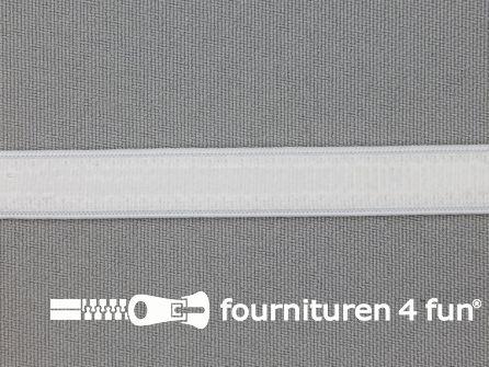 Siliconen elastiek 10mm wit