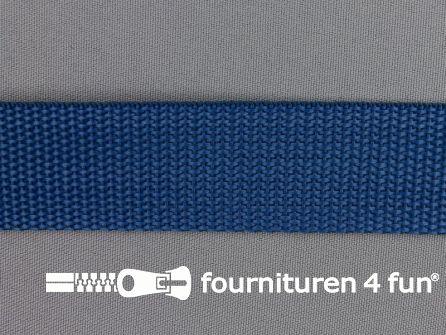 Rol 50 meter PP (polypropyleen) band 30mm konings blauw