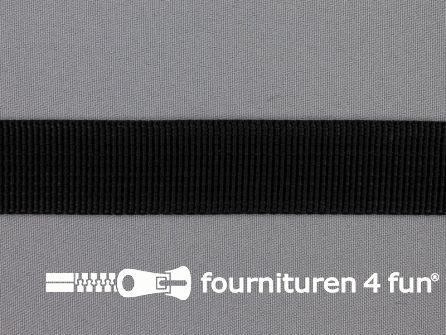 Rol 50 meter PP (polypropyleen) band 25mm zwart