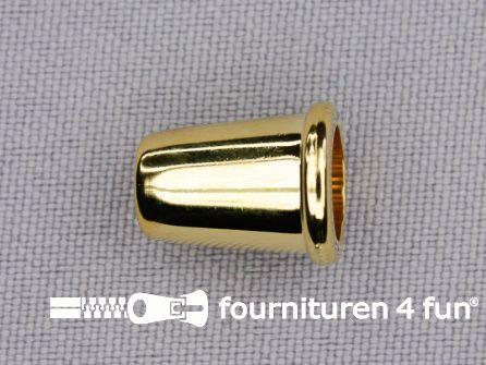 Kunststof koord uiteinde 11x14mm goud