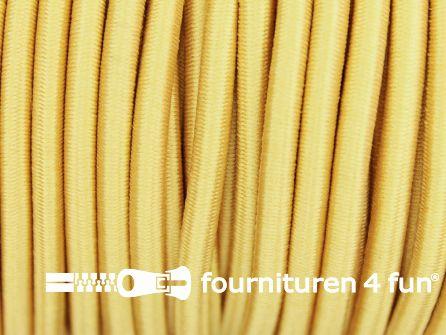 Elastisch koord 4,5mm licht geel
